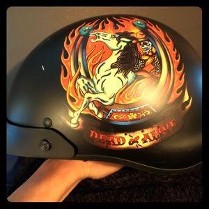 Ed HARDY motorcycle helmet